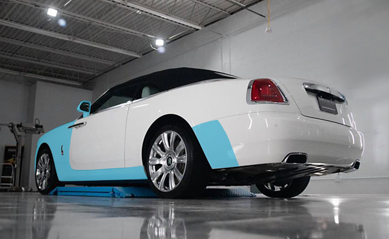 High-Impact Area Car Wrap Paint Protection Film