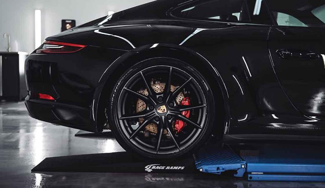 New Car Prep Porsche Tires
