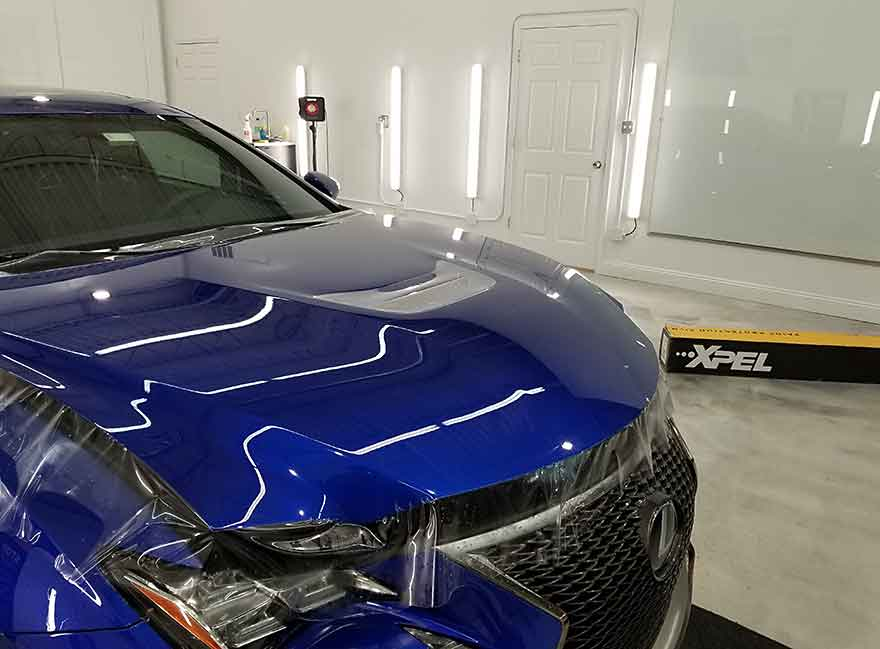 Paint Protection Film XPEL Installation