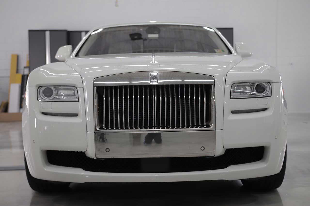 Rolls Royce Ghost Front View