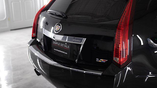 Cadillac CTS V Paint Corrections
