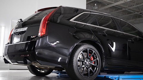 Cadillac CTS V Rear View