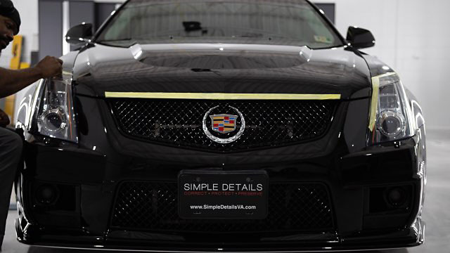 Cadillac CTS V Vehicle Detailing