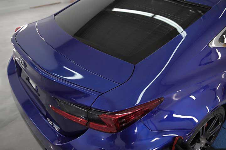 Lexus RC F Car Detailing
