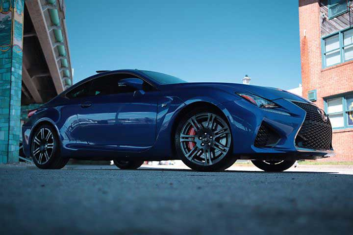 Lexus RC F Car Protection Detail