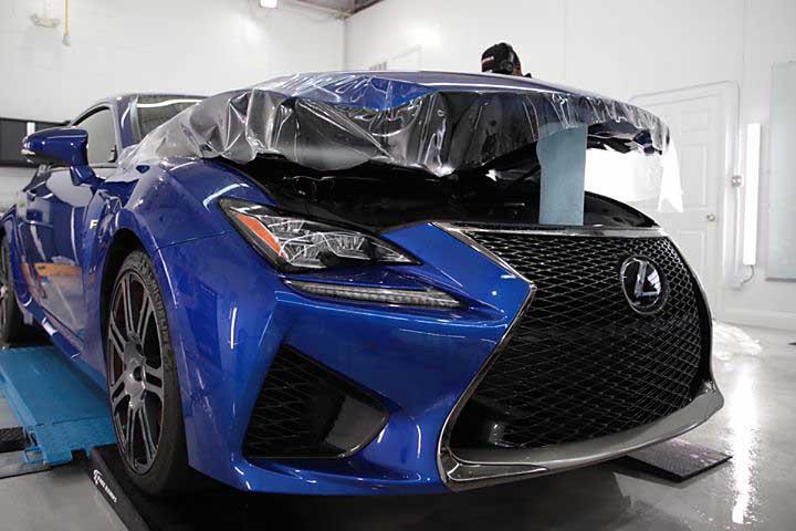 Lexus RC F Car Protection Film