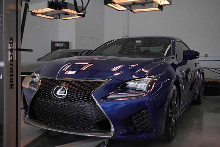 Lexus RC F Ceramic Coating Curing