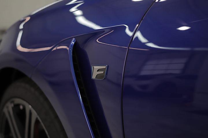 Lexus RC F Paint Correction