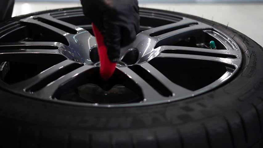 Lexus RC F Tire Coating