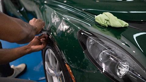 Lotus Elise Vehicle Detailing