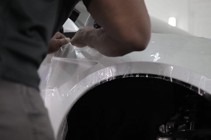 Acura NSX Elite Protective Film Wrap