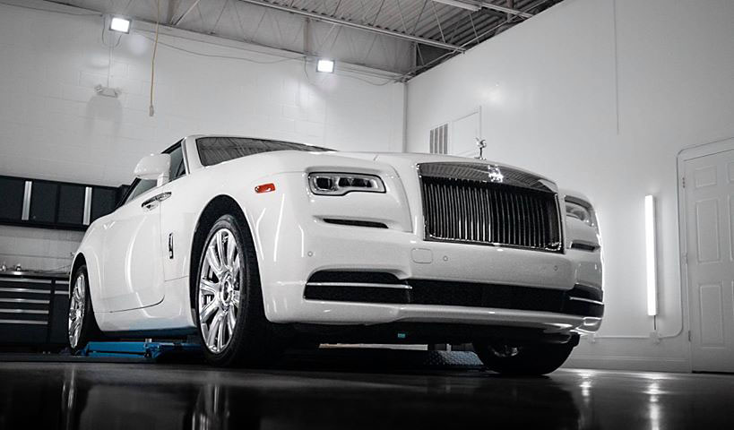 Rolls Royce Dawn Full Car Protection Film Wrap