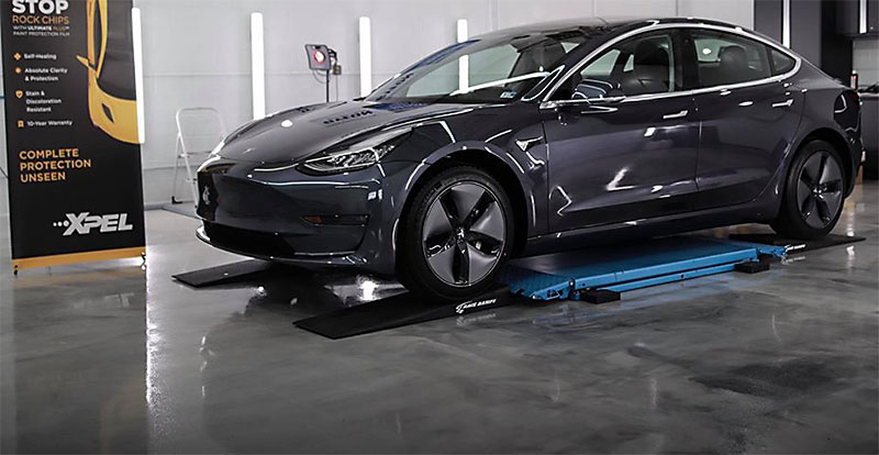 Tesla Model 3 Simple Details Paint Protection