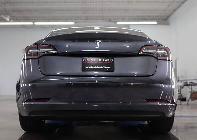 Tesla Model 3 Angel Wheel Coating