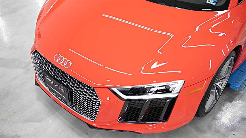 Audi R8 V10 Detailing