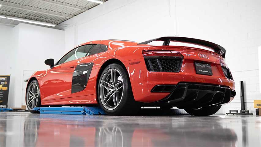 Audi R8 V10 Project