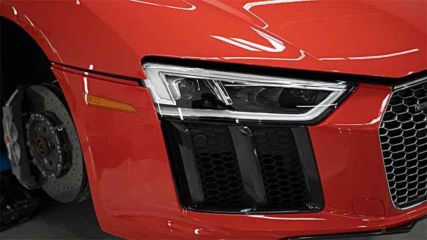 Audi R8 V10 Scratch Removal