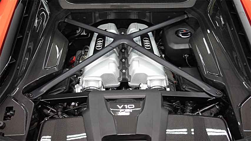 Audi R8 V10 Simple Details
