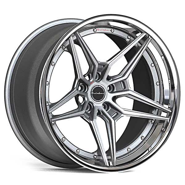 Brixton Wheels Forged V12 Targa 3-Piece