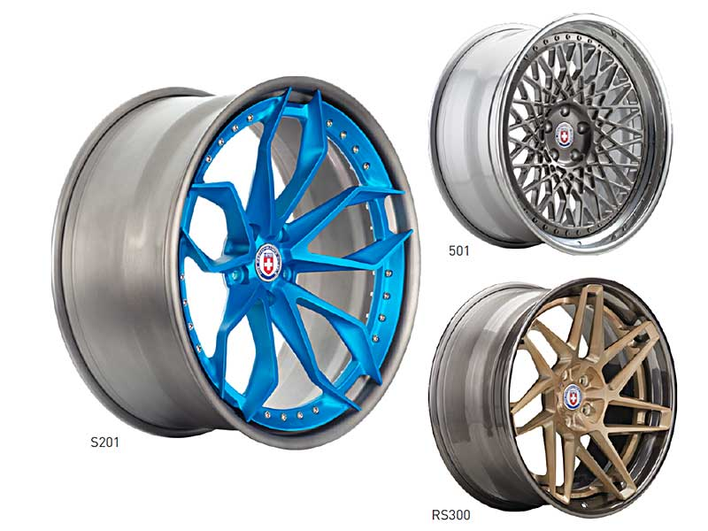 HRE Wheels 3-Piece Forged